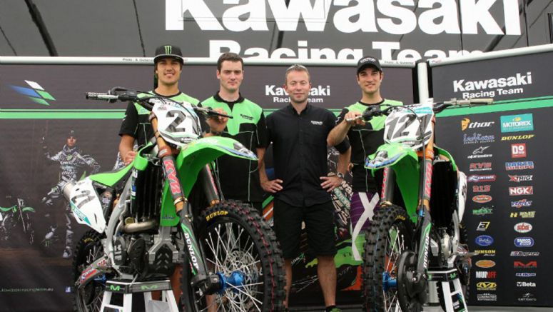 Kawasaki comes to France leading the MX1 class