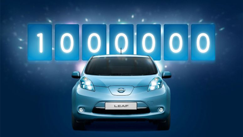 One Million Turn On to the Nissan LEAF