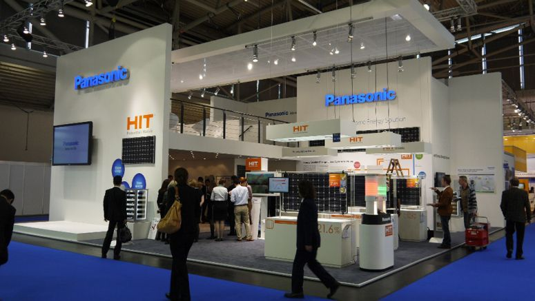 Panasonic Displays its Energy Solutions for Europe at Intersolar 2012