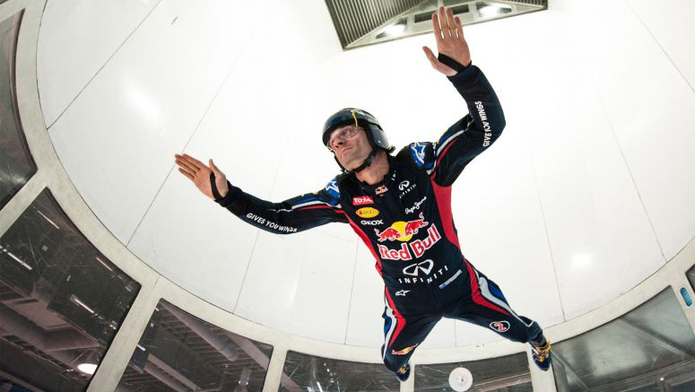 Formula One Star Mark Webber Completes a Race Against Gravity Ahead Of Canadian Grand Prix