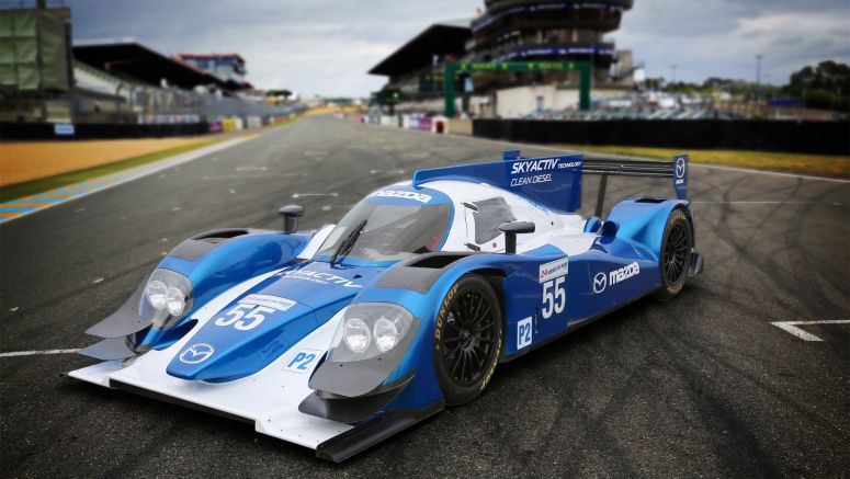 Mazda Announces SKYACTIV-D CLEAN DIESEL Engine for 2013 24 Hours of Le Mans