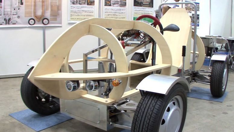 Micro Electric Vehicle Kit for Educational Use