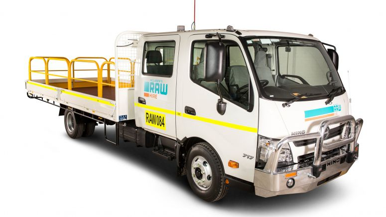 Hino Helps Hire Company Benefit From Mining Boom