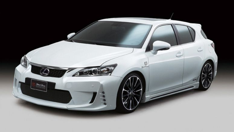 Lexus CT 200h WALD International New Body Kit