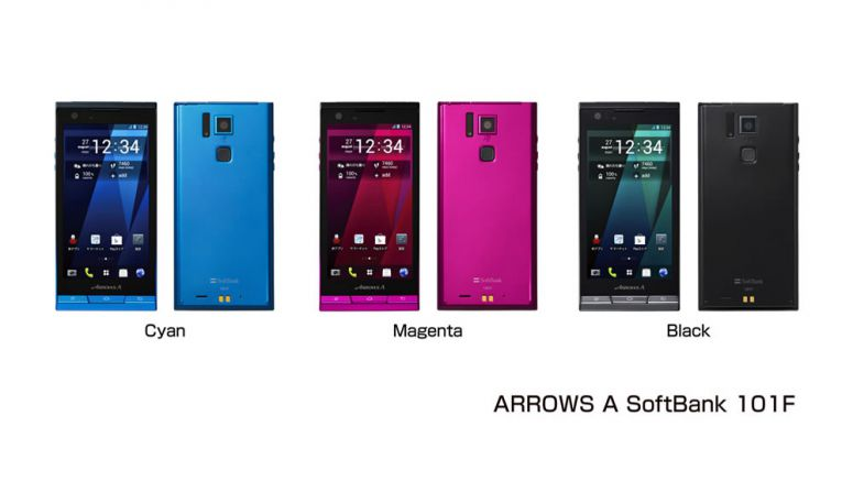 Fujitsu Introduces ARROWS A SoftBank 101F 42Mbps ULTRA SPEED AMOLED Plus Smartphone