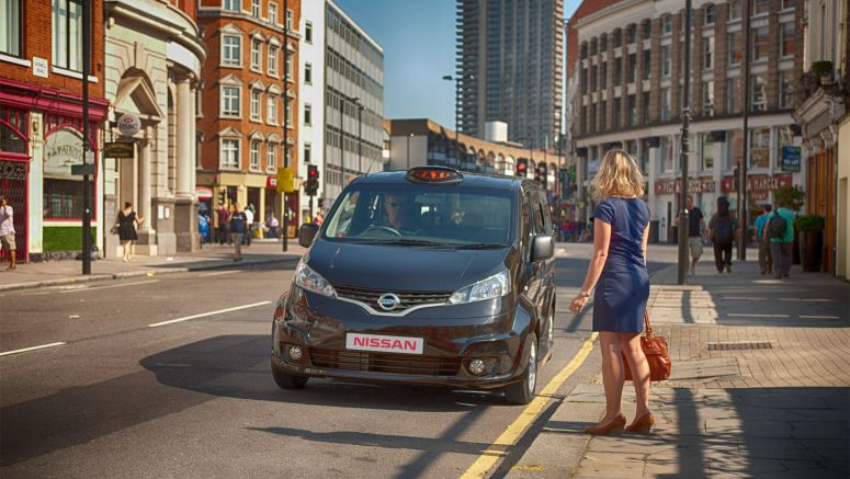 Nissan Unveils a Bold New Vision for the London Black Cab: The Nissan NV200 London Taxi