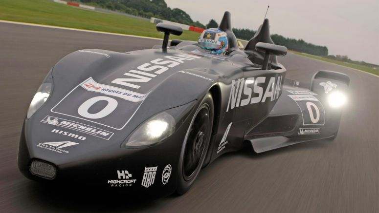 Nissan DeltaWing Rides Again, Entered in American Le Mans Series Finale