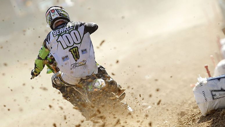 Kawasaki Tommy Searle second in Italy