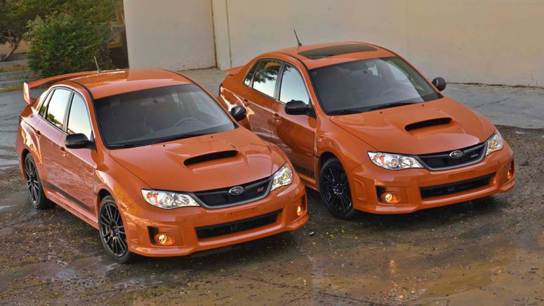 SEMA 2012 : Subaru WRX and WRX STI Special Halloween Editions
