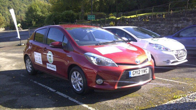 Toyota Yaris Hybrid at the MPG Marathon: the result