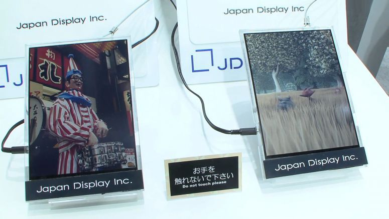 Japan Display develops paper-like low-power color LCD which can display video