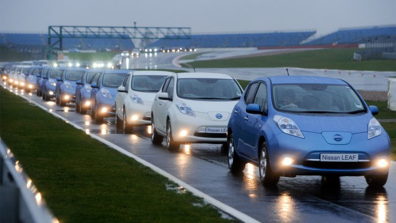 Nissan LEAF Drives into the Record Books…Again