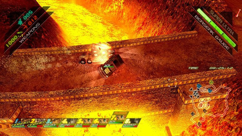 Fuel Overdose Roars into Action on Sony PSN Soon