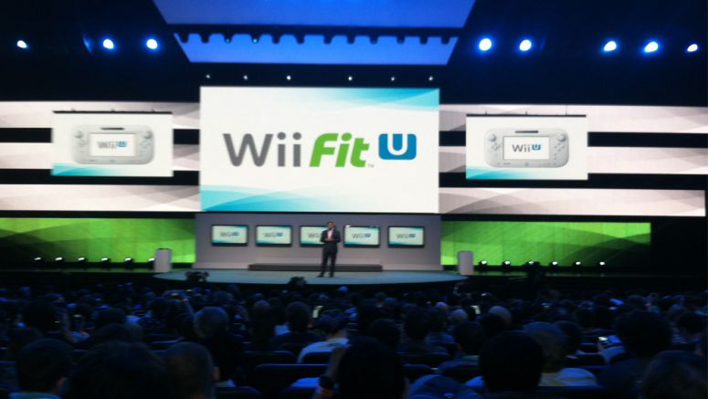 Nintendo demos Wii Fit U and Fit Meter pedometer