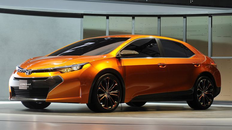 Detroit 2013 : Toyota debuts Furia concept, heralds next Corolla design photo update