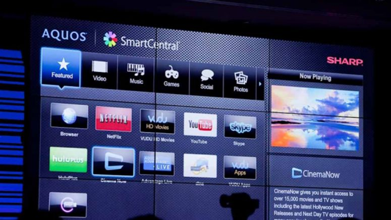 CES 2013 : Sharp second screen support on iOS and Android for SmartCentral HDTVs