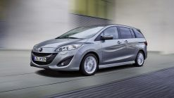 Enhanced Mazda5 now available