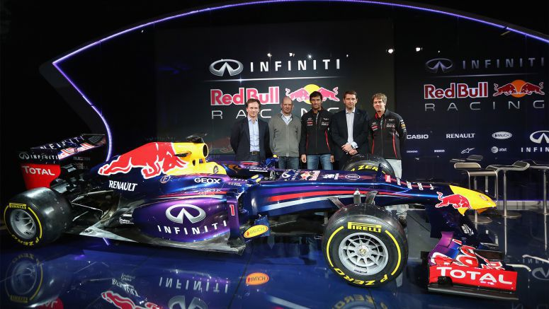 Infiniti Red Bull Racing Reveals the RB9