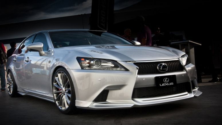 2013 Supercharged Lexus GS 350 F SPORT Wald Body Kit