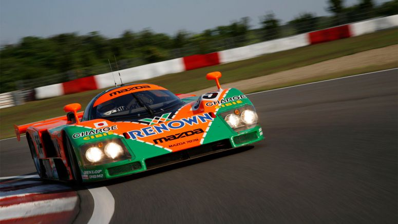 Race-winning Mazda 787B Le Mans sportscar earns legend status
