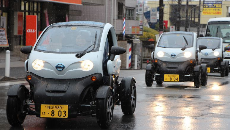 "More than 2,700 sign up in first month of ""Choimobi Yokohama"" Car Sharing Service using NISSAN New Mobility CONCEPT Ultra-Compact EV"