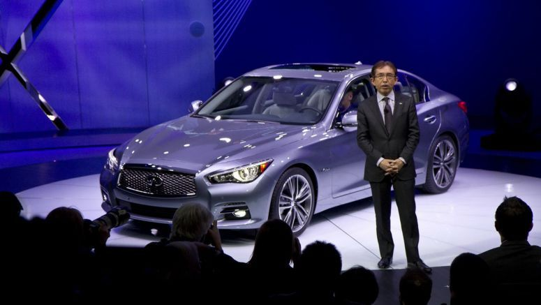 2013 New York Auto Show : New Infiniti Q50 Priced from $36,450 , Goes On Sale This Summer, Comes With Free iPad