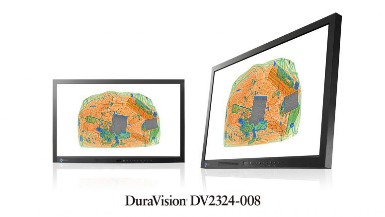 Eizo DV2324-008 23-inch full HD monitor offers superb image quality for security and surveillance applications