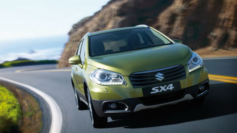 2013 Geneva Motor Show : Suzuki Unveils New SX4 Compact Crossover, Sales Begin this Fall