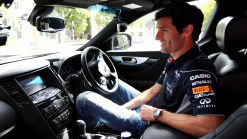 Infiniti Australian Formula One Star Mark Webber Showcases the Precision of Formula One Training Ahead of His Home Race, Then G