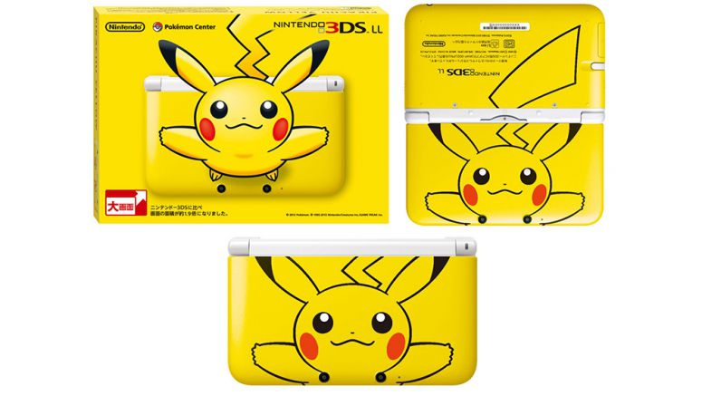 Pikachu Edition Nintendo 3DS XL Arriving This March 24th