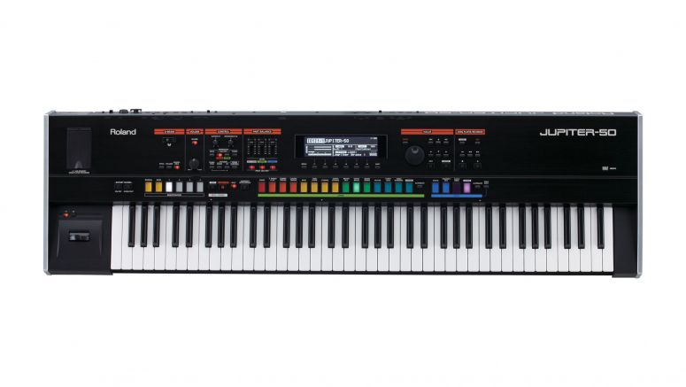 Buy a Roland Jupiter-50 this March and get an iPad Mini for free