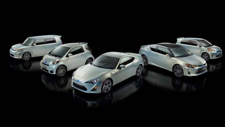 Scion Celebrates 10th Birthday with Limited Edition Versions of Entire Range