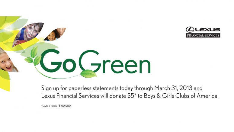 Toyota Earth-Friendly Campaign Raises Lots of 'Green' for Boys & Girls Clubs of America