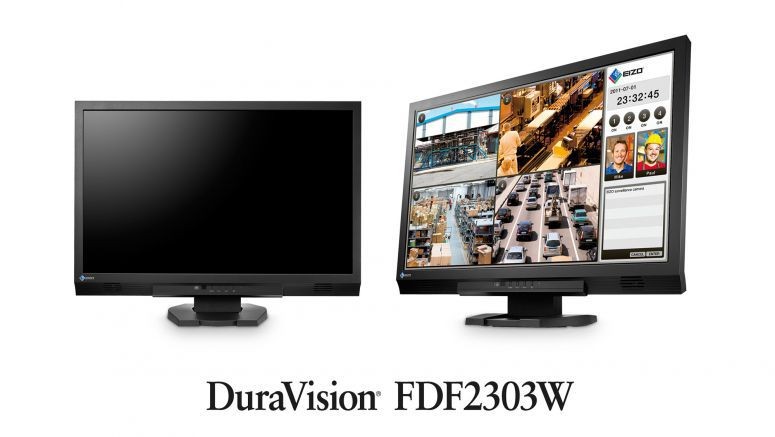 Eizo launches 23-inch Full HD monitor Dura Vision FDF2303W for surveillance applications