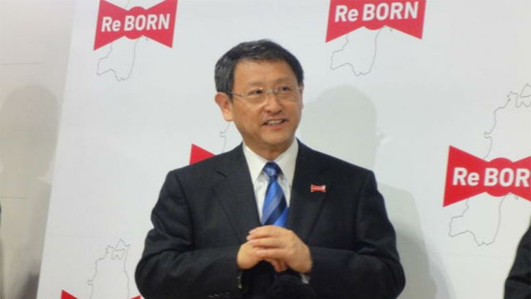 Akio Toyoda says that the entire Toyota group is working for Tohoku revival