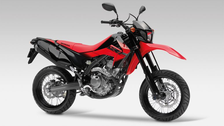 Honda adds Supermoto style and attitude to its range with CRF250M