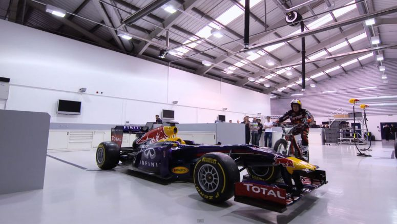 Update : Dougie Does Red Bull Racing