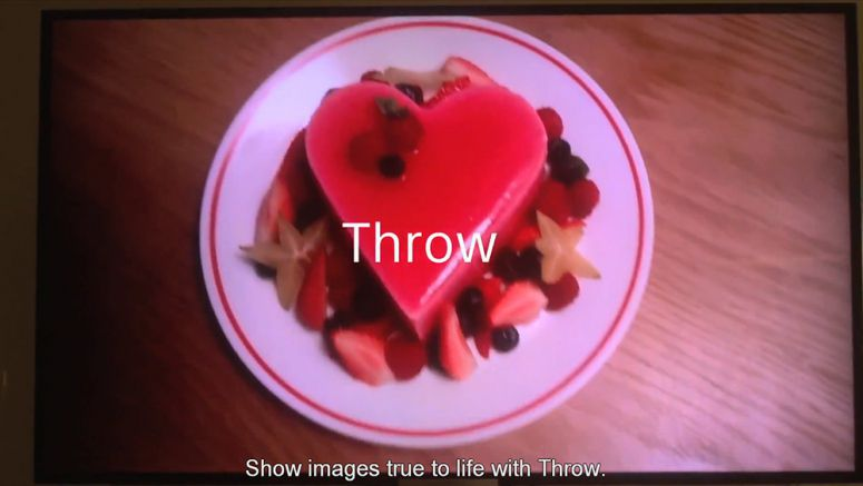 VIDEO : Throw Sony Xperia Z, BRAVIA