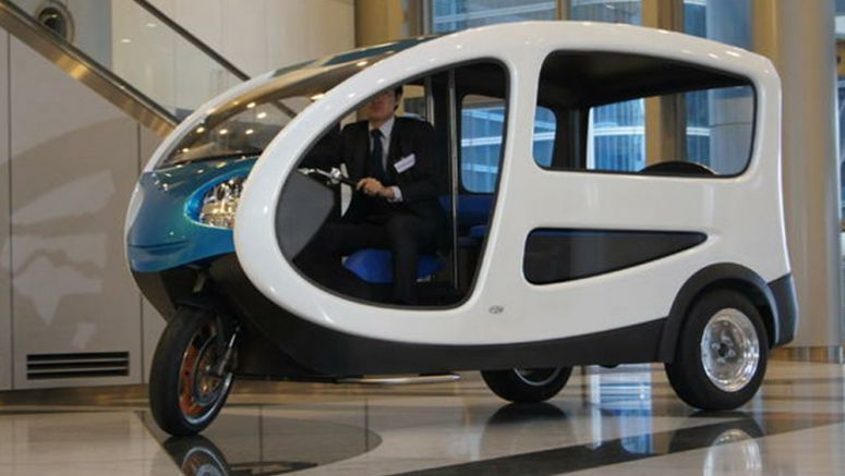 Terra Motors unveil E-Trike taxi aimed at developing nations