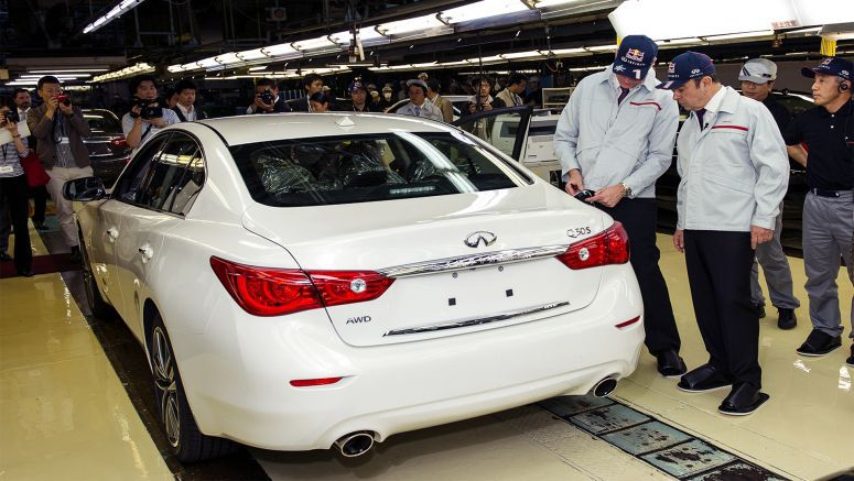 Update : First Infiniti Q50 Rolls Off the Production Line at Tochigi Plant to Signal Bold New Direction for Model Line-Up