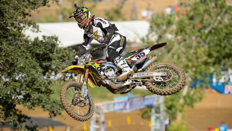 Suzuki Sipes Mixes With The 450 Men At Hangtown
