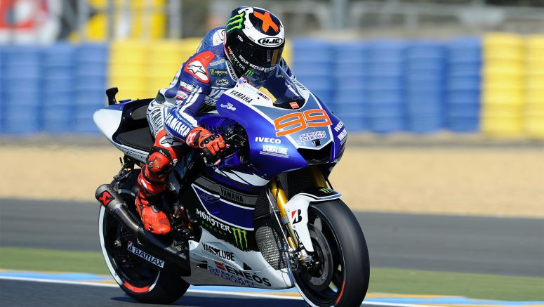 MotoGP : Yamaha Lorenzo Secures Front Row in Le Mans for Grand Prix de France 2013