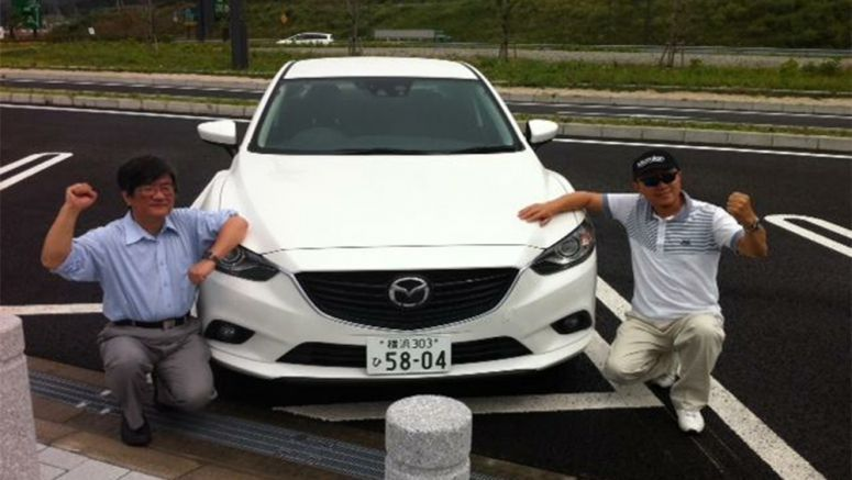 Man drives 1000 miles in the Mazda Atenza SKYACTIV-D with a single tank of fuel