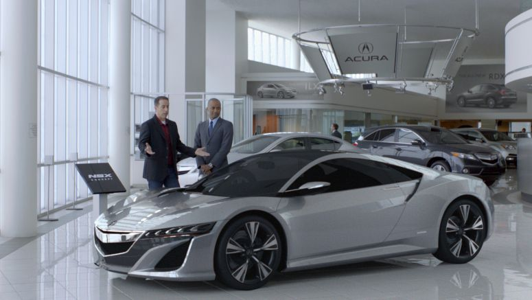 Acura Signs on as Exclusive Sponsor of Comedians in Cars Getting Coffee