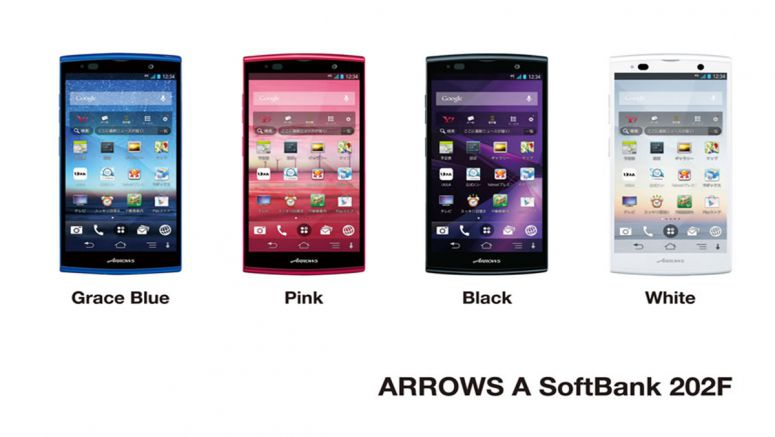 Fujitsu launches ARROWS A SoftBank 202F smartphone featuring ultra-long-lasting battery life in Japan