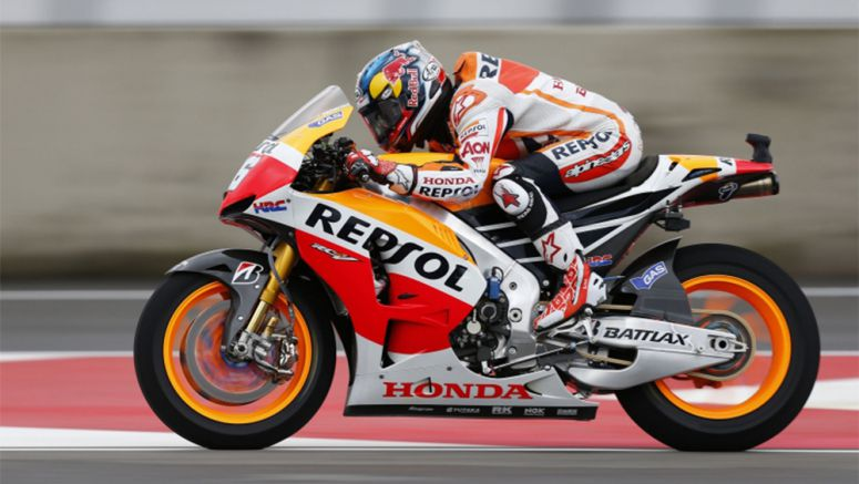 Honda Pedrosa 5th on day one in Mugello as Marquez escapes serious injury after crash