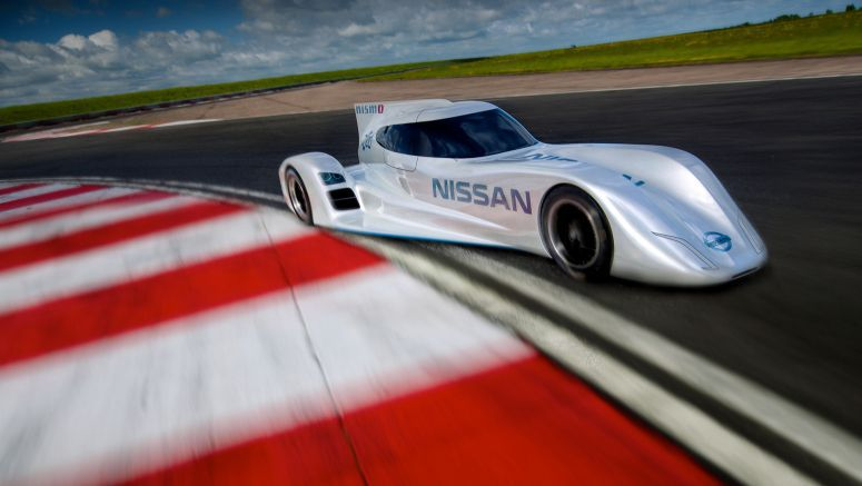 Nissan Unveils Le Mans Prototype Plans With World's Fastest Electric Racing Car