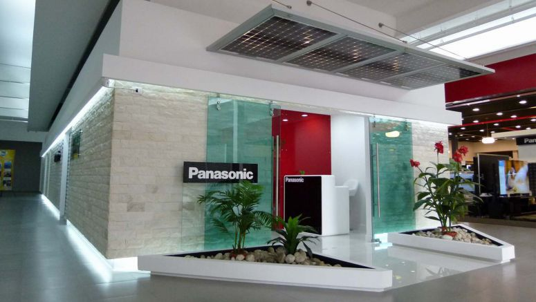 Panasonic First Latin American New Lifestyle Showcase Showroom in Guatemala