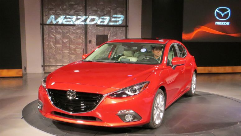 2014 Mazda3 2.0L Hatchback officially rated at 40 mpg highway