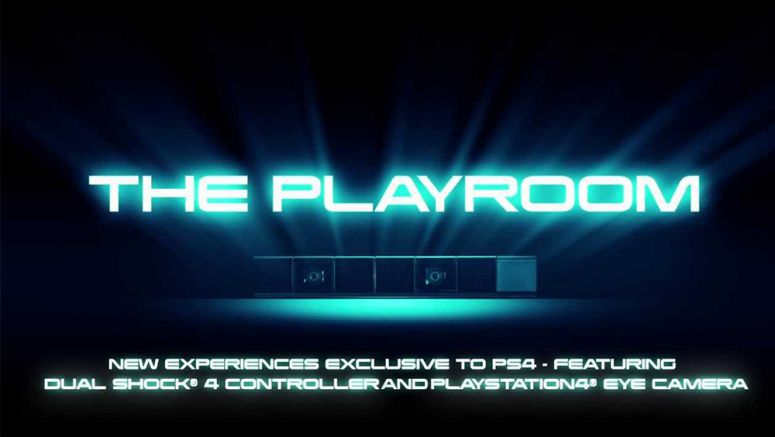 The Playroom to be pre-installed on every Sony PS4 at launch